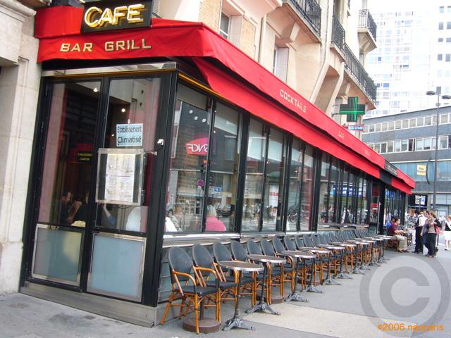 ■パリ、モンパルナス界隈のキャフェ&レストラン_a0014299_9414375.jpg