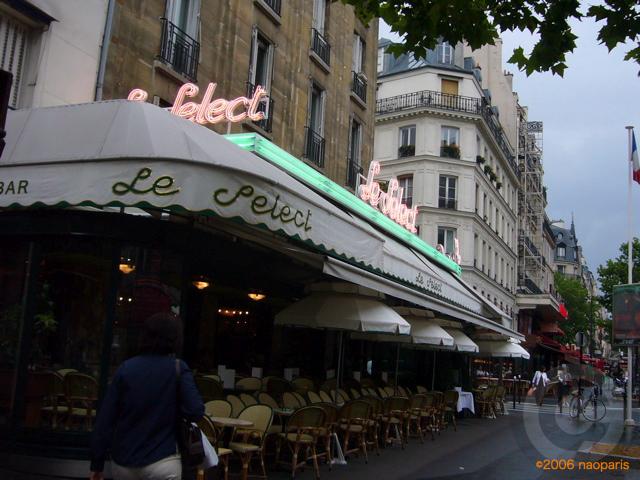 ■パリ、モンパルナス界隈のキャフェ&レストラン_a0014299_9423472.jpg