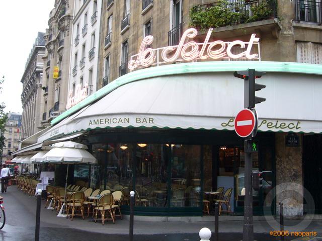 ■パリ、モンパルナス界隈のキャフェ&レストラン_a0014299_9435100.jpg