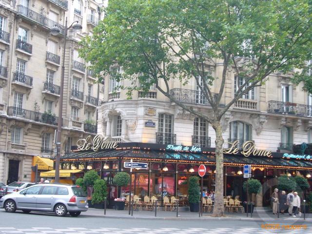 ■パリ、モンパルナス界隈のキャフェ&レストラン_a0014299_9445992.jpg