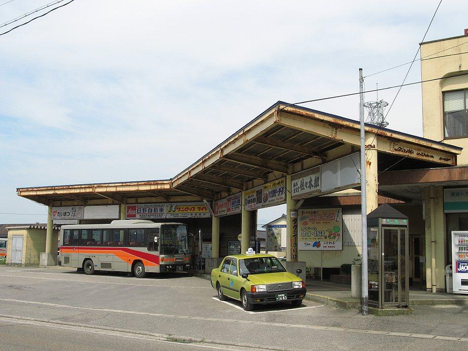 蒲鉄小型バス村松駅_b0059756_23505431.jpg