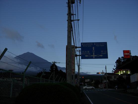 なかなか見れない赤富士_b0089338_2213984.jpg