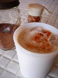 ミルクグラスタンブラーでミルク♪_e0042839_20391649.jpg