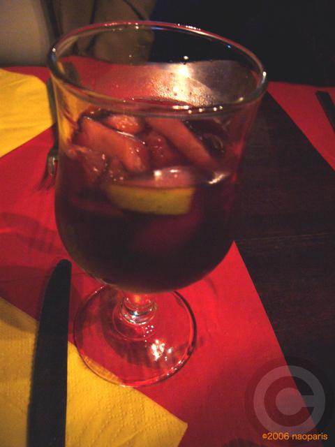 ■パリでスペイン料理EL BISTRO LATINO(サンミシェル界隈)_a0014299_21161473.jpg