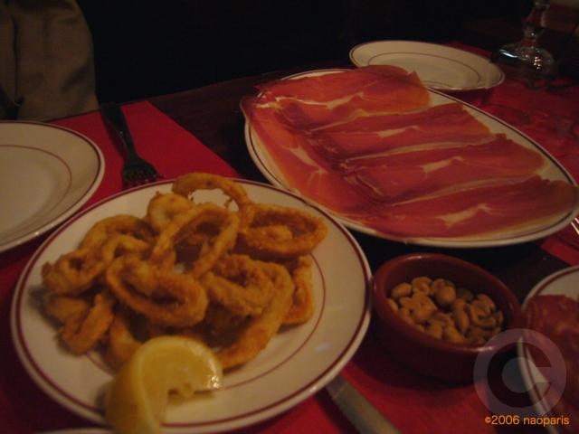 ■パリでスペイン料理EL BISTRO LATINO(サンミシェル界隈)_a0014299_21174994.jpg