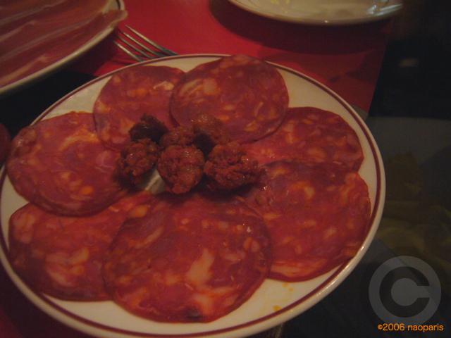 ■パリでスペイン料理EL BISTRO LATINO(サンミシェル界隈)_a0014299_21192668.jpg