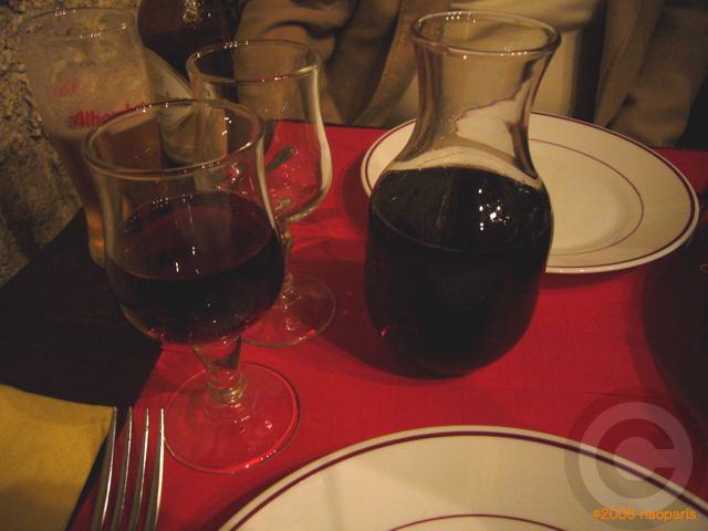 ■パリでスペイン料理EL BISTRO LATINO(サンミシェル界隈)_a0014299_21385520.jpg