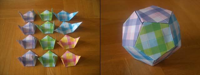 ハート 折り紙 正多面体 折り紙 : mrtn.exblog.jp