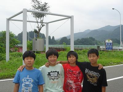 東京中学生、農村体験学習に_b0092684_13422393.jpg