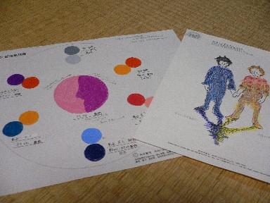 色彩学校「セルフセラピーコース」 第2日目_c0035843_15303152.jpg
