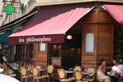 パリのカフェ・ビストロ その2 Les Philosophes Marais_d0004651_1727473.jpg
