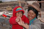 (イリジウム通信)インカの一家を訪ねる_b0062963_1575448.jpg