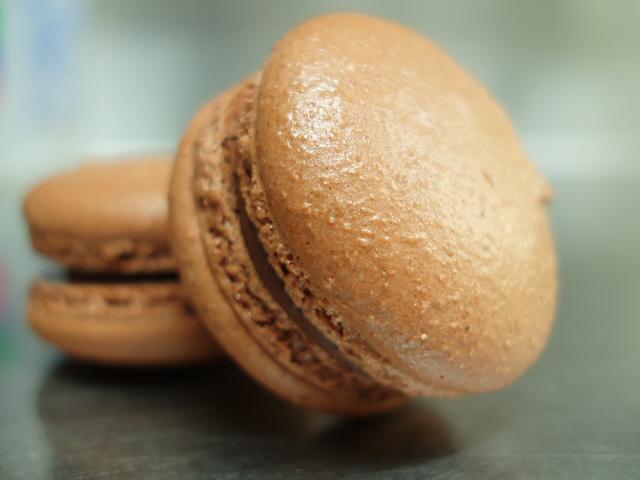 チョコのマカロン macaron chocolat_a0066869_12008.jpg