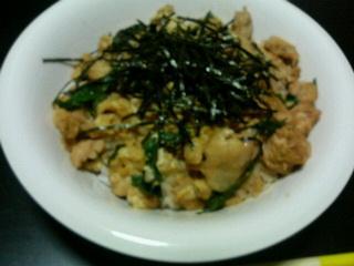 親子丼 feat.しゃべる!DSお料理ナビ_c0025217_2093220.jpg