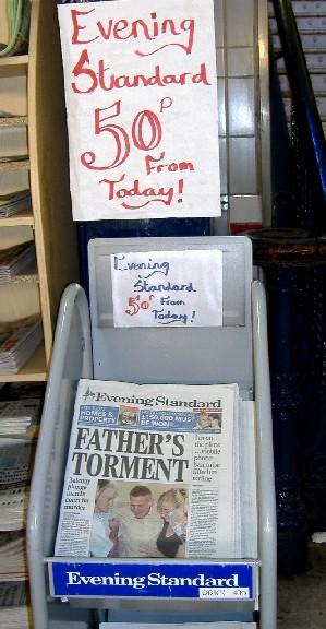 ロンドンの無料紙「戦争」 一紙が発売開始_c0016826_1551568.jpg