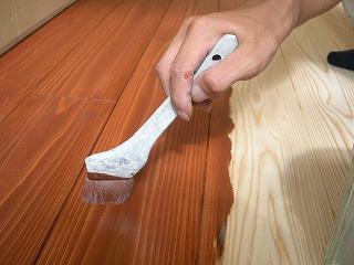 床塗装開始!!_b0097729_1729527.jpg