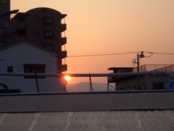 夕日_c0087349_20191667.jpg