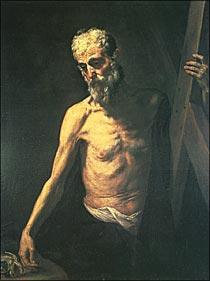 プラド美術館展(6)ホセ・デ・リベラ「十字架を担う聖アンデレ ...