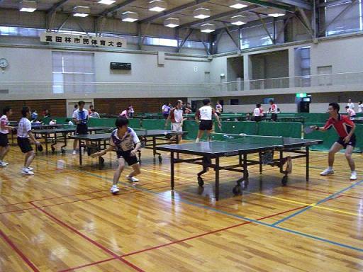 第43回大阪スポーツ祭典卓球大会  0903 富田林_e0048692_0592048.jpg