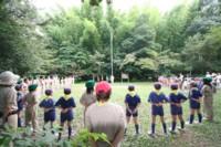 ボーイスカウト上進式in脇山野営場andカブトムシ_d0082356_9195958.jpg