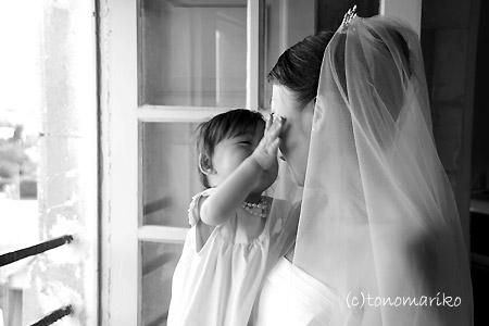 フランスの結婚式 古城ホテルと天使ちゃん_c0024345_6564824.jpg