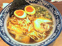 麺屋 無双@米子 ★☆ (味噌ラーメン+煮たまご+赤玉)_f0080612_2318225.jpg