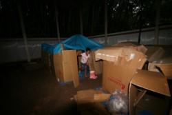 """""""キャンプ!"""" ひみつ基地 ボーイスカウト_d0082356_23201132.jpg"""