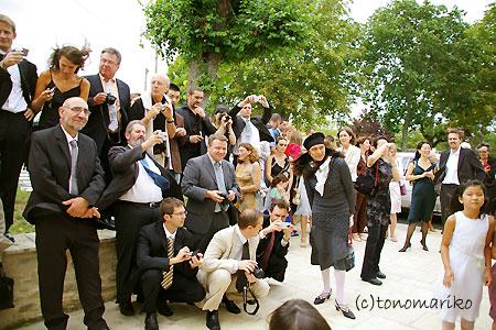 教会を終えて後半戦へ ~フランスの結婚式~_c0024345_9235523.jpg