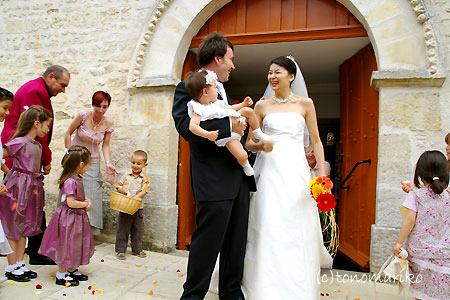 教会を終えて後半戦へ ~フランスの結婚式~_c0024345_9293259.jpg