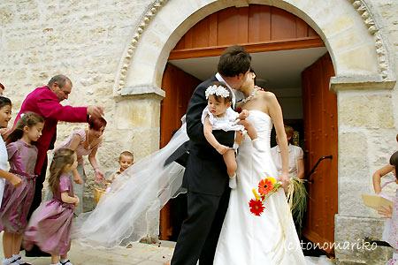 教会を終えて後半戦へ ~フランスの結婚式~_c0024345_9295257.jpg
