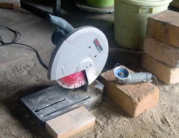 窖窯を作る/ダイアモンド工具_c0081499_2162279.jpg