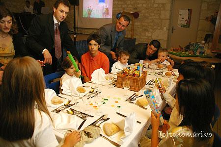 驚きフランスキッズパワー ~フランスの結婚式~_c0024345_7235767.jpg