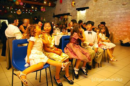 驚きフランスキッズパワー ~フランスの結婚式~_c0024345_7242878.jpg