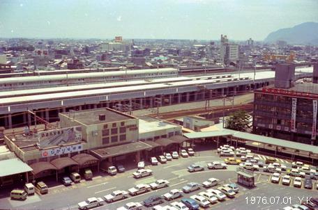 1976年7月1日 静 岡 : 郷愁の鉄...