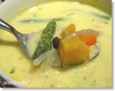 野菜たっぷり♪クリームスープ_a0056451_3394320.jpg