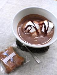 ホットチョコレートとマタギ丼。_d0028589_20565838.jpg