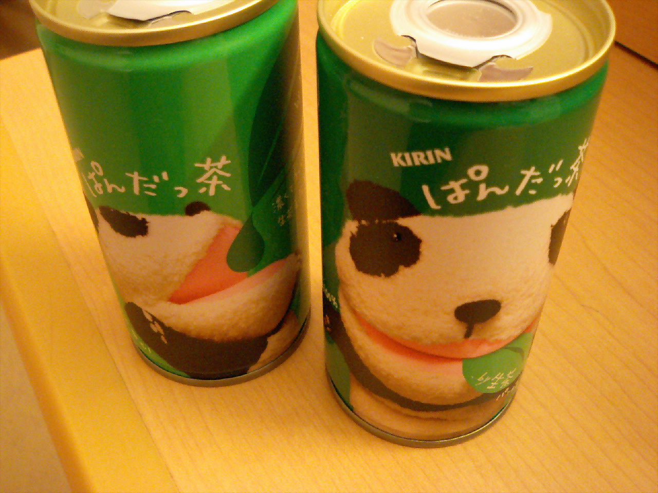 【番外】生茶パンダ パペットとがまぐちとぱんだっ茶_d0068879_17551685.jpg
