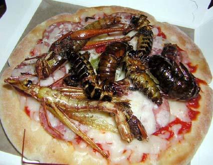 NAVER まとめ【飯テロ】食らえ!食用ゴキブリ画像【深夜の】