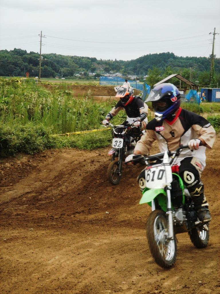 RSMX R3 レポ3 ~PIT RACER&85cc&フルサイズ~_f0062361_1757079.jpg
