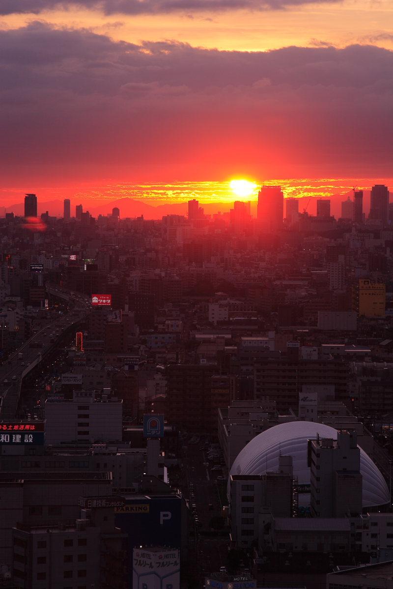 大阪 東大阪市役所より_f0021869_21553234.jpg