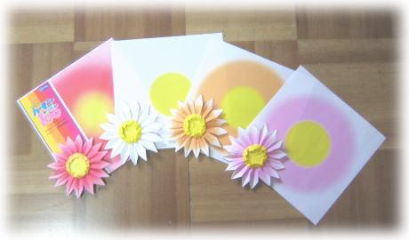 ハート 折り紙 折り紙 ガーベラ 折り方 : kun9393.exblog.jp