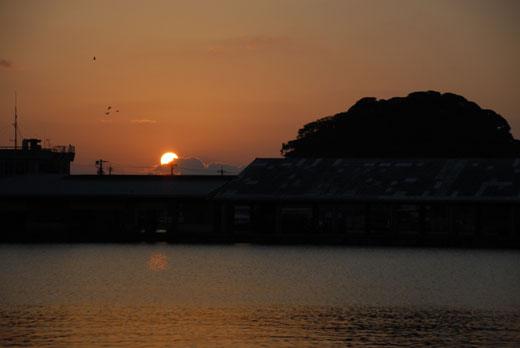 夜明け(蛸島漁港)_c0093046_9532219.jpg
