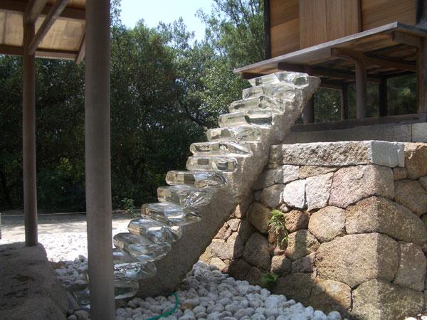 護王神社 階段