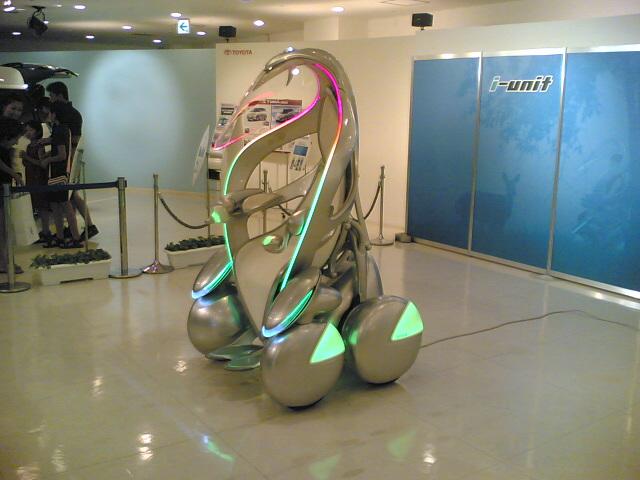 トヨタ i-unit