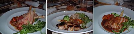 『ビストロ・ド・ヨシモト』の肉料理