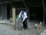 やっと、稲刈り?いえいえ作業場の掃除でした。_d0026905_22103375.jpg