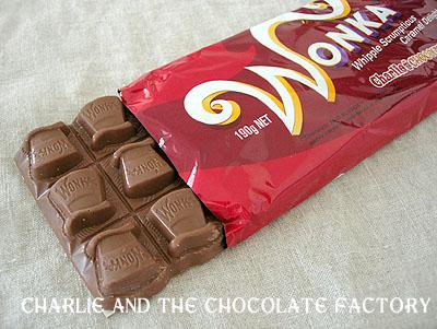 ウィリー・ウォンカのチョコレート  ハチミツカメラ