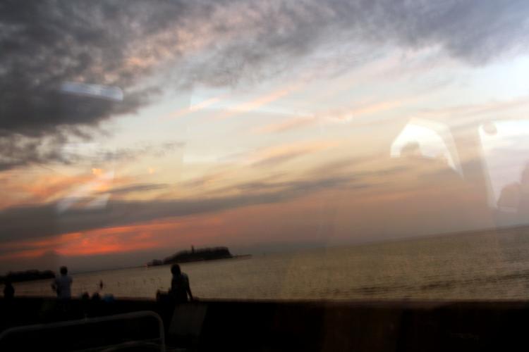 昨日の夕景。_b0022268_22302562.jpg