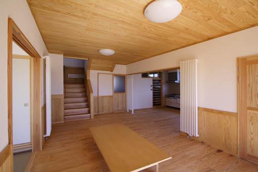 八郎潟の家12:完成1_e0054299_9385758.jpg