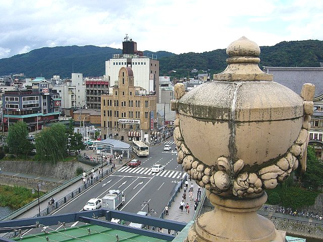 京都の東華菜館_c0094541_16125080.jpg